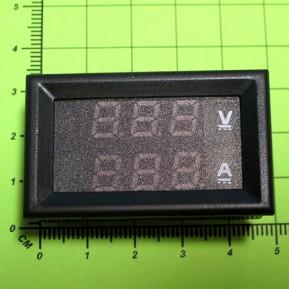 DSN-VC288 Цифровой ампервольтметр DC 0 - 100V / 10A (Красная/Синяя индикация)