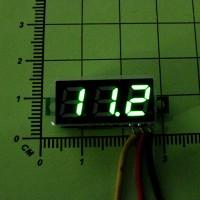 Цифровой вольтметр DC0 - 100V (Зеленая индикация)