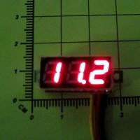 Цифровой вольтметр DC0 - 100V (Красная индикация)