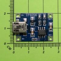 TP4056, 1A, miniUSB, Контроллер заряда литиевых аккумуляторов