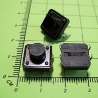Тактовая кнопка, DIP, 12x12x7.5mm