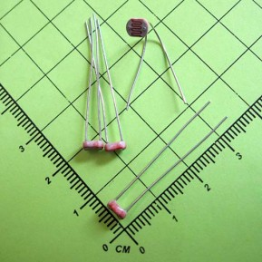 GL5516 Фоторезистор, 5мм, 540нм, 5-10кОм