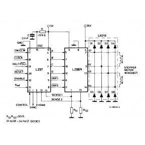 L297 Драйвер шагового двигателя, 5V