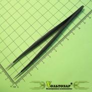 Пинцет ESD-10, прямой 110мм, антистатик, не намагничивается