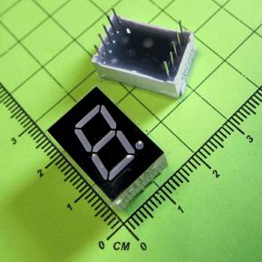 5011AS Цифровой индикатор, 1 сегмент, 0.56 дюйма/сегмент, общий анод, красный