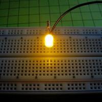 Светодиод желтый 5мм, матовый