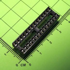 SCS-28, шаг 2.54 мм, ширина 7,62 мм