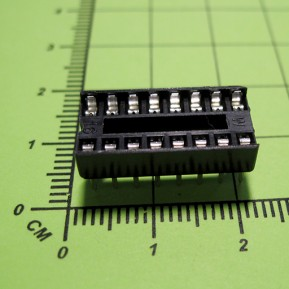SCS-16, шаг 2.54 мм, ширина 7,62 мм