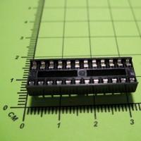 SCS-24, шаг 2.54 мм, ширина 7,62 мм