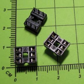 SCS-6, шаг 2.54 мм, ширина 7,62 мм