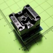 Адаптер SOP8-DIP8 150mil (золочение)