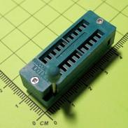 Универсальная ZIF-панелька с нулевым усилением, 20 выводов