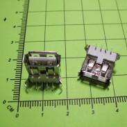 Розетка USB-A-F-SM на плату