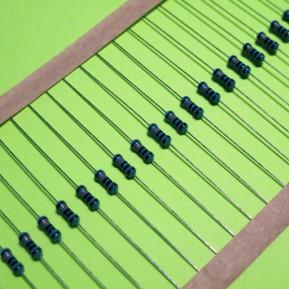 (Распродажа) Металлопленочный резистор,  постоянный, 1.5 КОм, 0.25 Вт, 1%