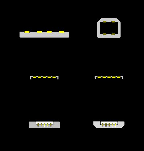 Типы USB разъемов